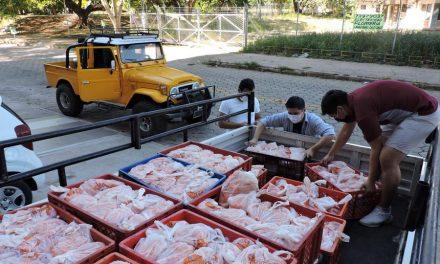 Miembro de la Iglesia de Jesucristo promueve la donación de alimentos en Bolivia