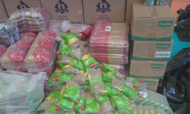 La Iglesia de Jesucristo continúa con la donación de alimentos en Perú