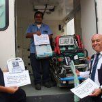 donación de equipos médicos en Perú