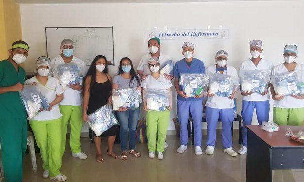 La Iglesia de Jesucristo dona equipos de bioseguridad en un hospital de Ecuador