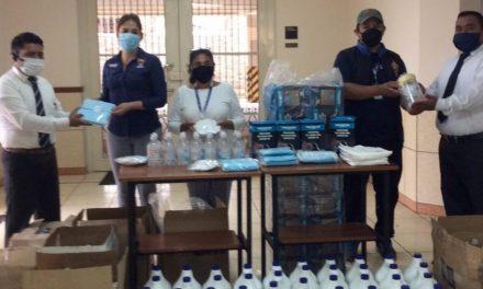 La Iglesia de Jesucristo dona artículos de protección a Centro de Salud en Guatemala