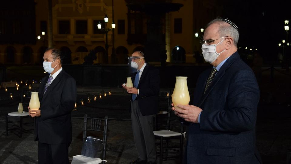 oración por el fin del COVID-19 en Perú