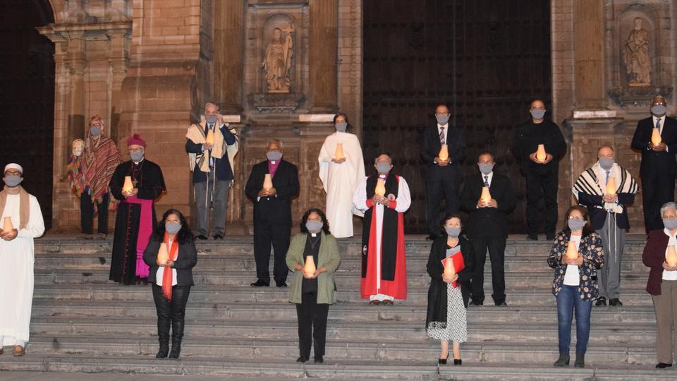 La Iglesia de Jesucristo participa en la Oración de Religiones Unidas por la Salud en Perú
