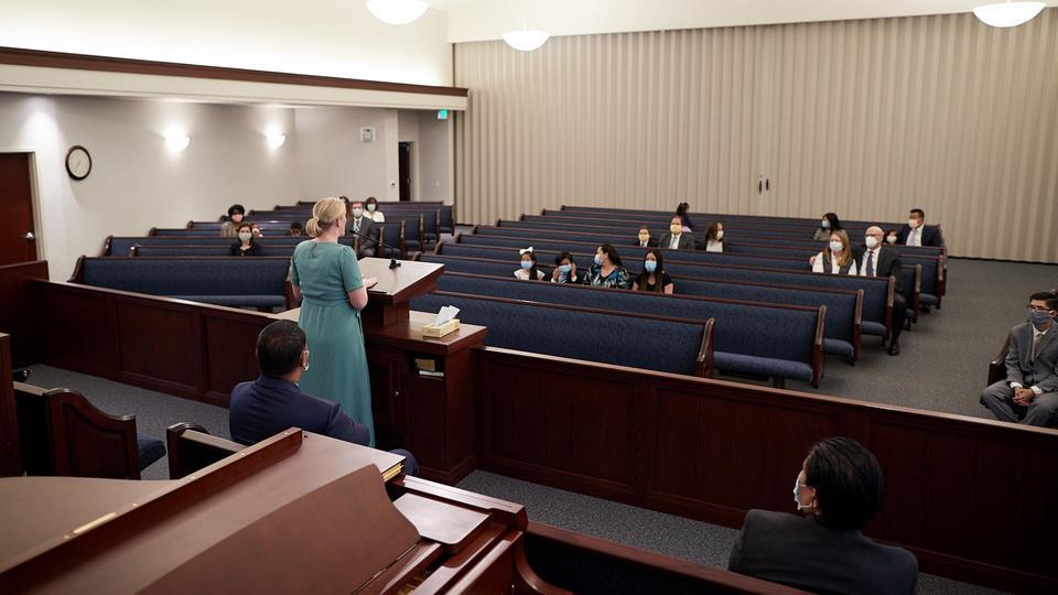 reuniones de la Iglesia de Jesucristo otra vez