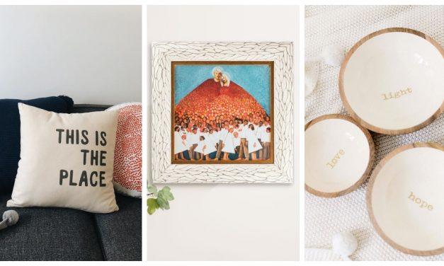 13 maneras de incorporar tu fe en la decoración de tu hogar