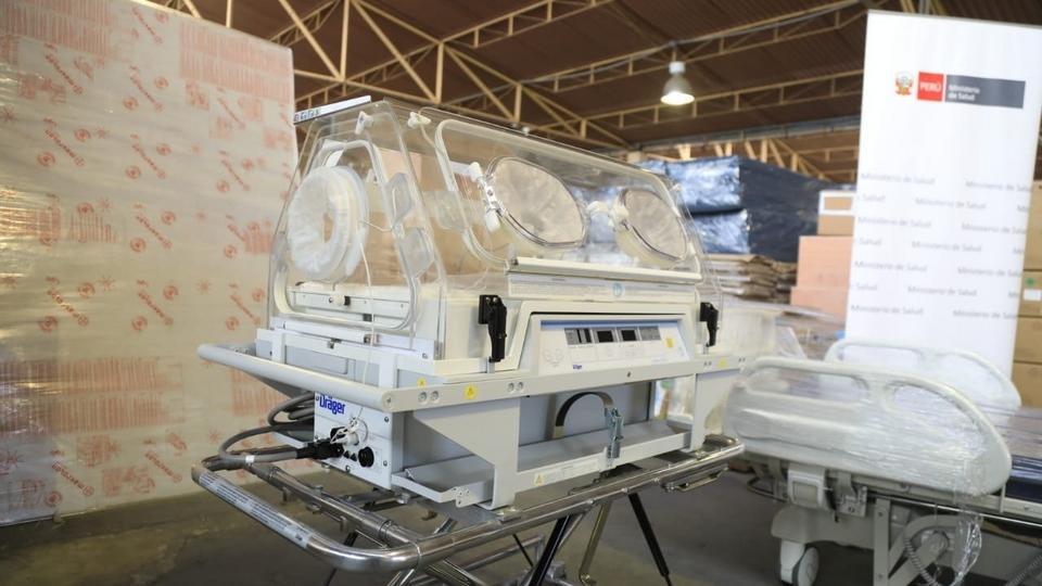 Camas-UCI-donación de la Iglesia de Jesucristo en Perú