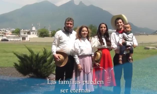 "Familias en México se unen para cantar ""Las familias pueden ser eternas"""