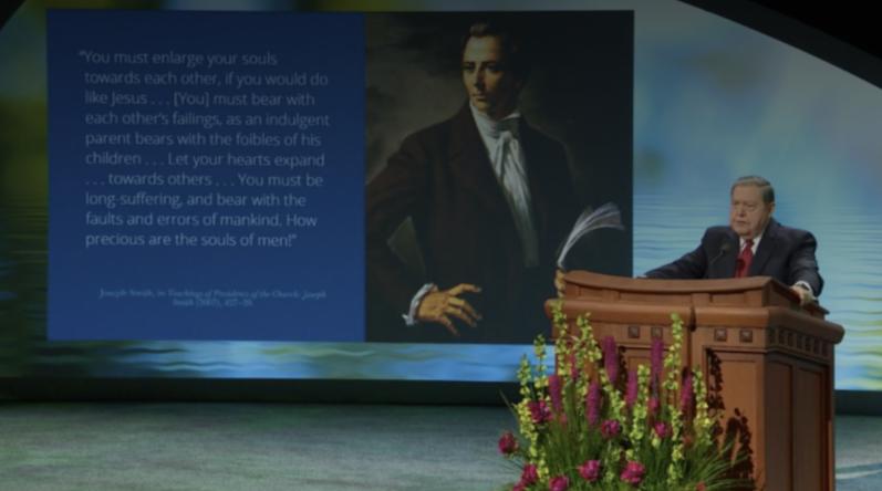 Élder Holland:El Salvador resumió Su ministerio en 1 principio: 'amarse unos a otros'