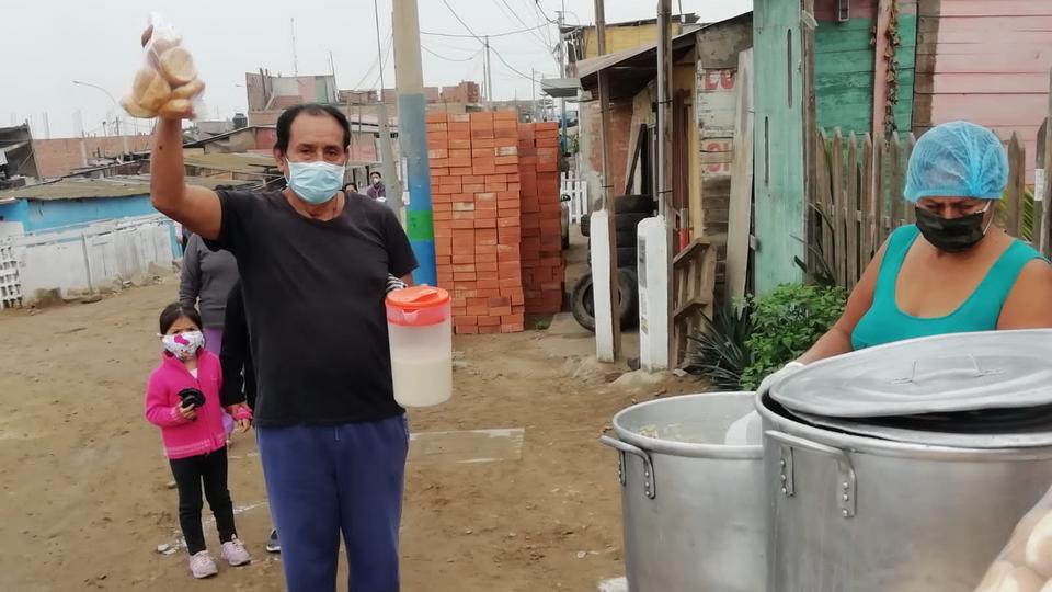 Donación de alimentos - Iglesia de Jesucristo