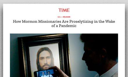 Revista Time escribe sobre la labor de los misioneros de la Iglesia de Jesucristo durante la pandemia
