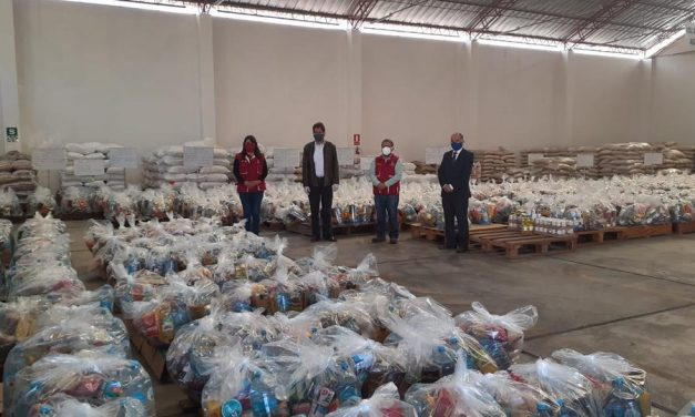 La Iglesia de Jesucristo dona alimentos para 1000 familias en Perú
