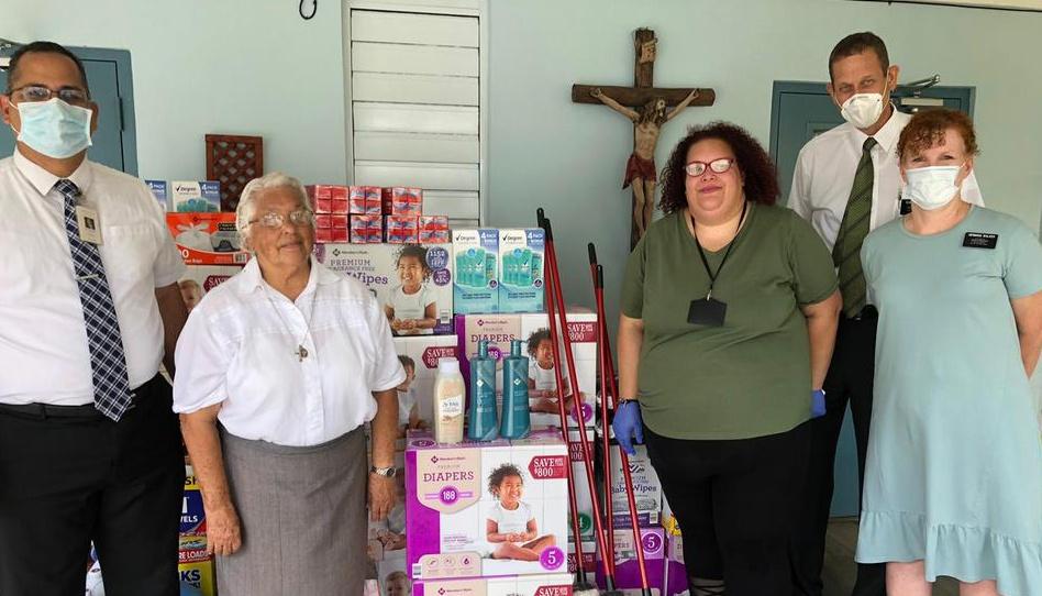 La Iglesia de Jesucristo realiza importante donación para niños y mujeres que sufren maltratos