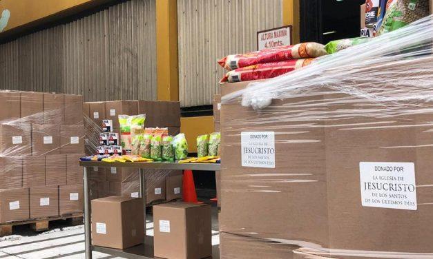 La Iglesia de Jesucristo dona 50 000 canastas de alimentos en Perú