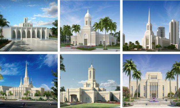 Aumenta el número de templos sin la estatua del Ángel Moroni