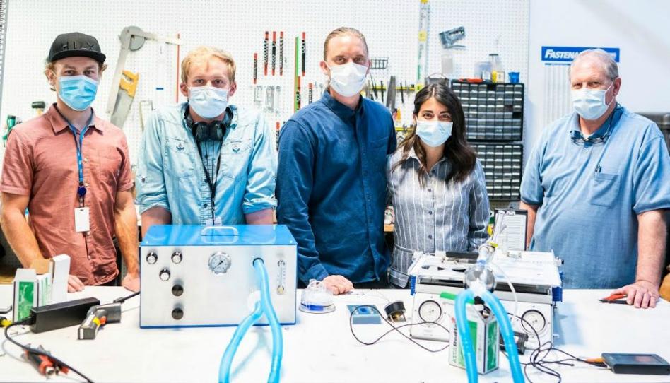 Profesionales de BYU crean instrumentos médicos para combatir covid-19