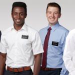 vestimenta misioneros - sin corbata camiza azul