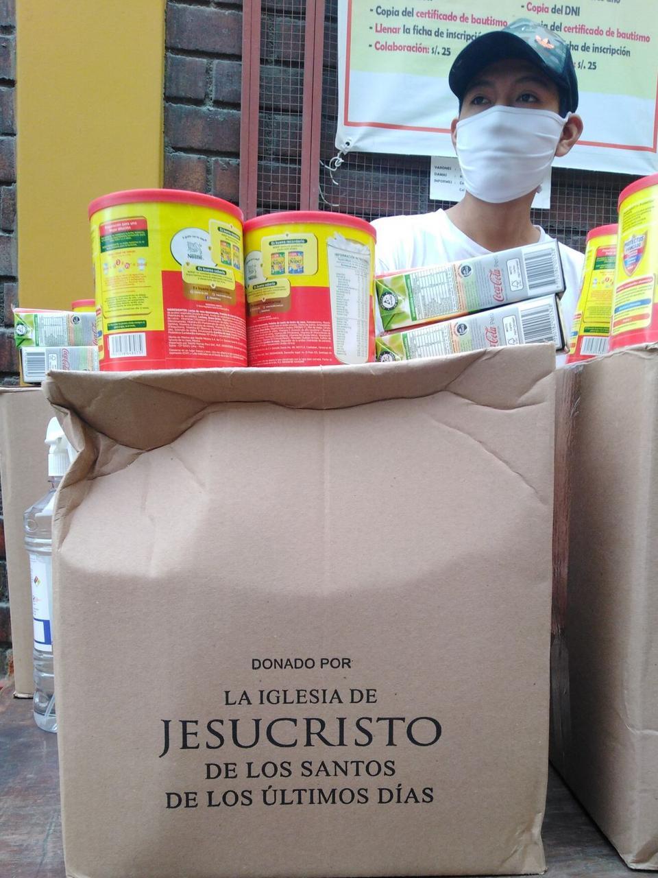 Donación a Sinfonía por el Perú