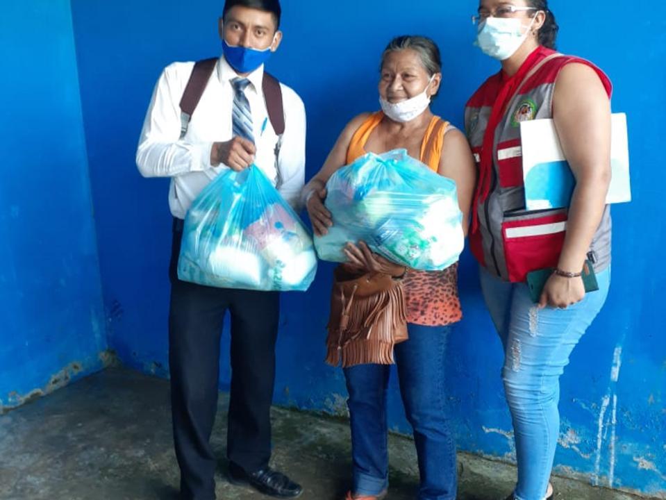 Donación de alimentos para discapacitados