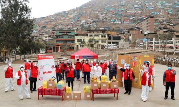 La Iglesia de Jesucristo dona alimentos a más de 1500 familias en Perú