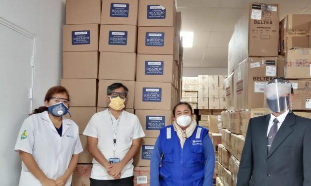La Iglesia de Jesucristo dona equipos de bioseguridad a hospital en Perú