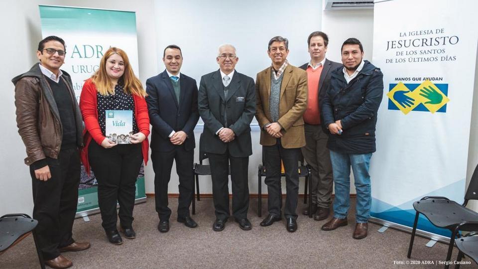 La Iglesia de Jesucristo y los Adventistas se unen para llevar ayuda a los afectados de COVID-19
