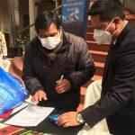 donación de alimentos para Bolivia
