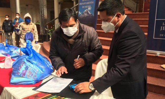 La Iglesia de Jesucristo dona 15 000 dólares en alimentos para Bolivia