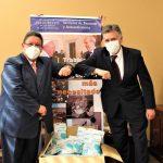 donación de mascarillas en Bolivia