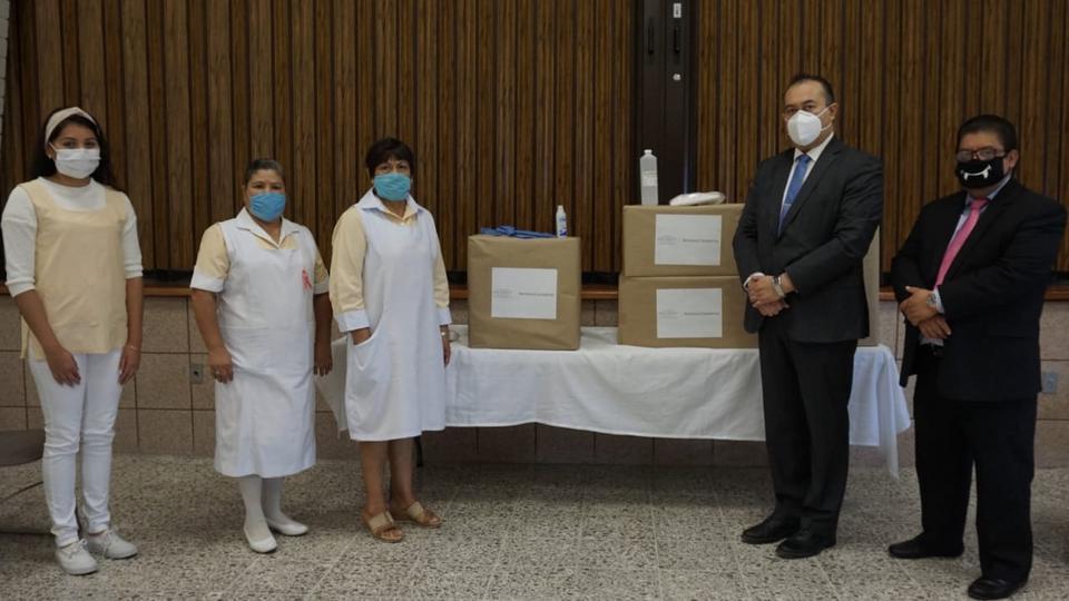 La Iglesia de Jesucristo dona equipos de protección al Instituto Mexicano del Seguro Social
