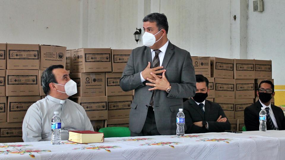 La Iglesia de Jesucristo y Caritas en México