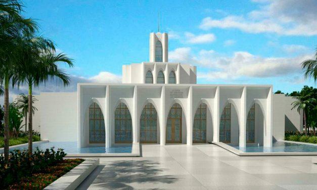 Se anuncia la fecha para la Palada Inicial del Templo de Brasilia, Brasil