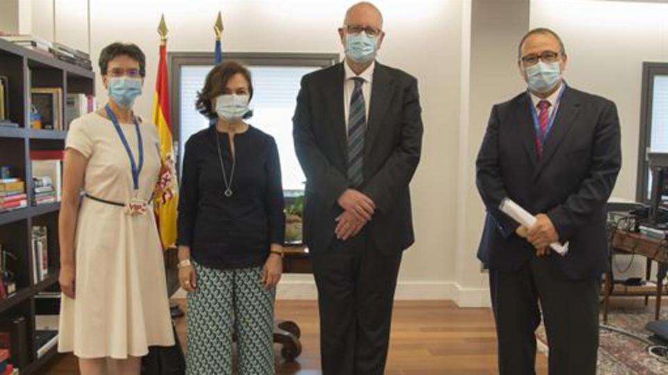 Vicepresidenta de España y La Iglesia de Jesucristo