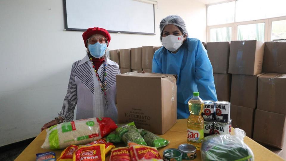 donación a Programas Sociales de la Beneficencia Lima