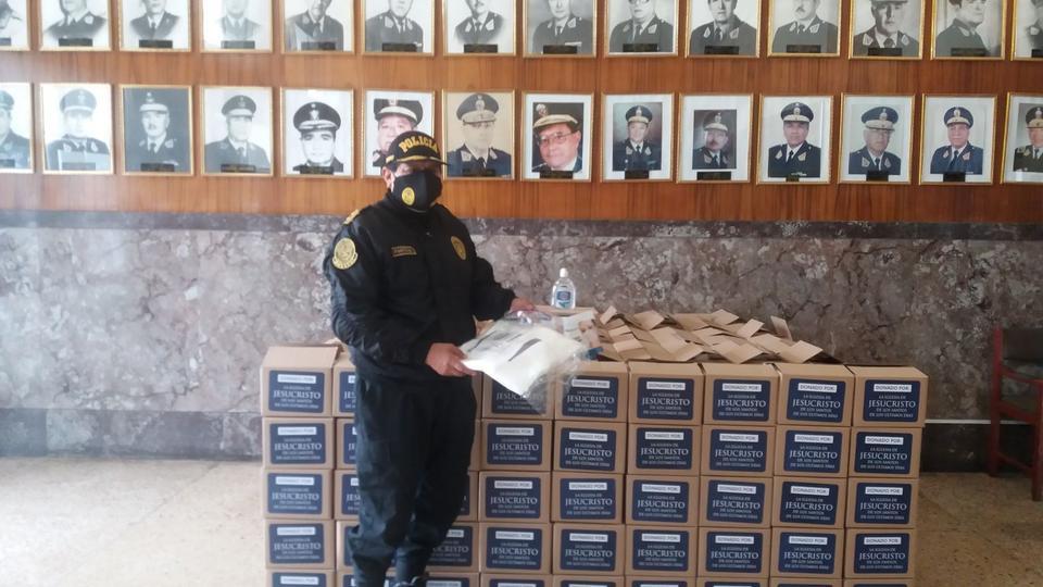 donación al Hospital de la Policía del Perú