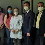 La Iglesia de Jesucristo de los Santos de los Últimos Días en Guatemala donó equipos médicos al Hospital Regional de Cuilapa, Santa Rosa.