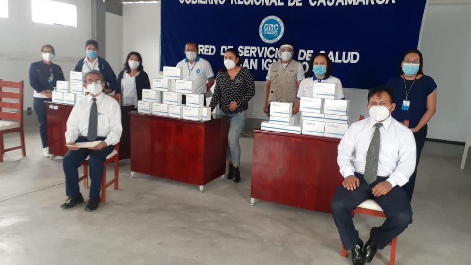 donación de pruebas rápidas