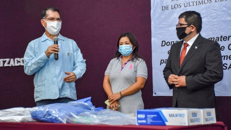 La Iglesia de Jesucristo dona elementos de seguridad para médicos en México