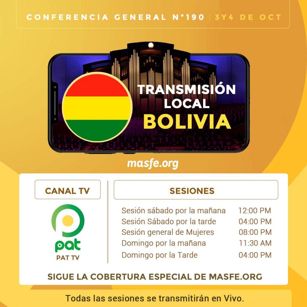 Tv conferencia Bolivia