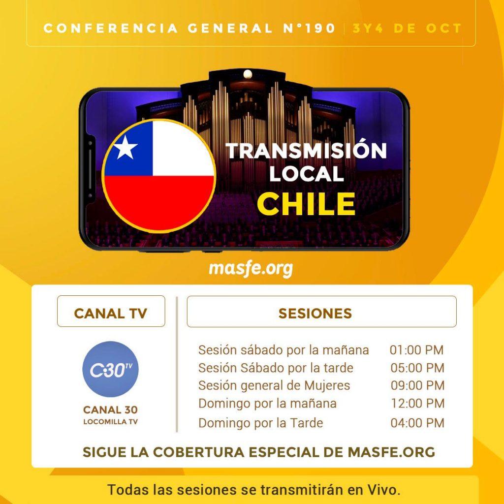 Conferencia en TV - Chile