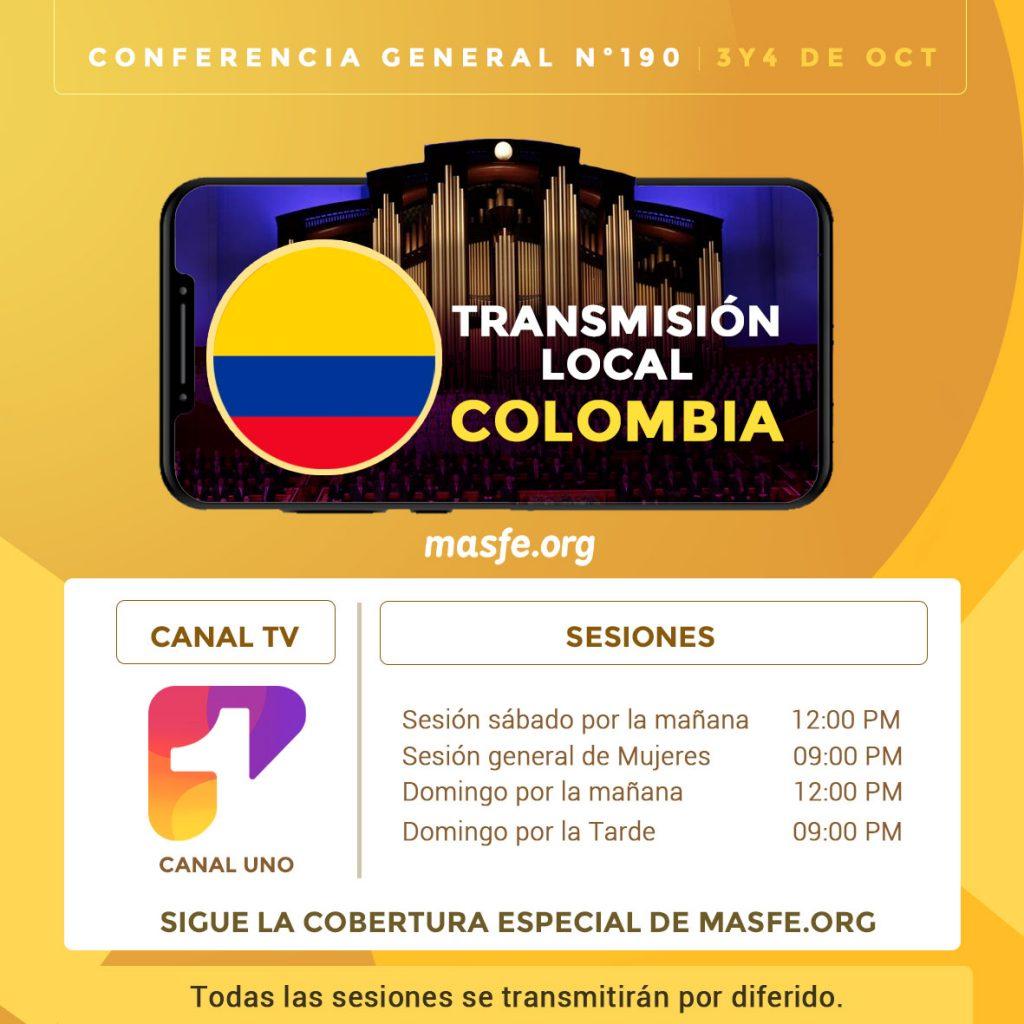 TV conferencia en Colombia