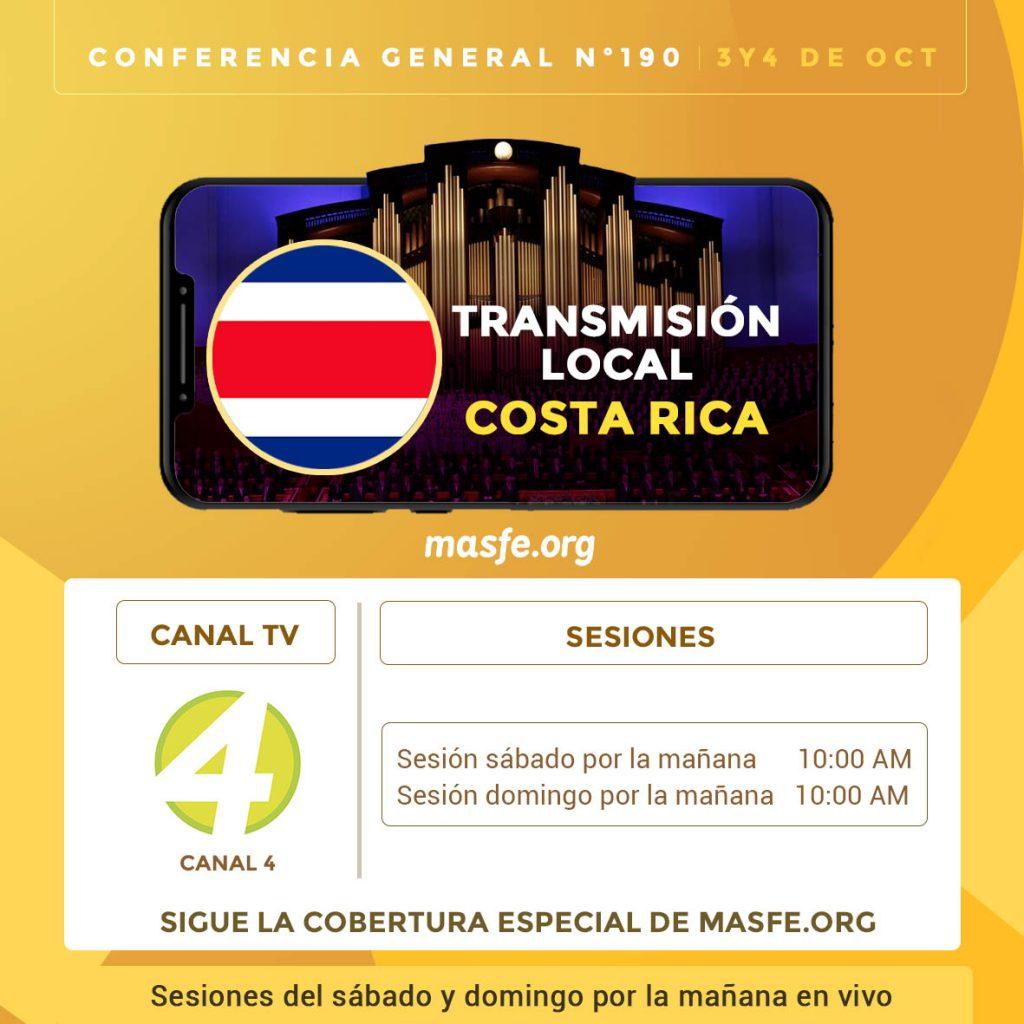Conferencia en TV - Costa Rica