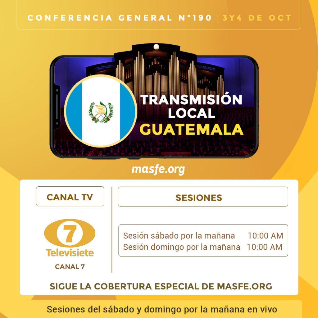 Conferencia General - tv y radio
