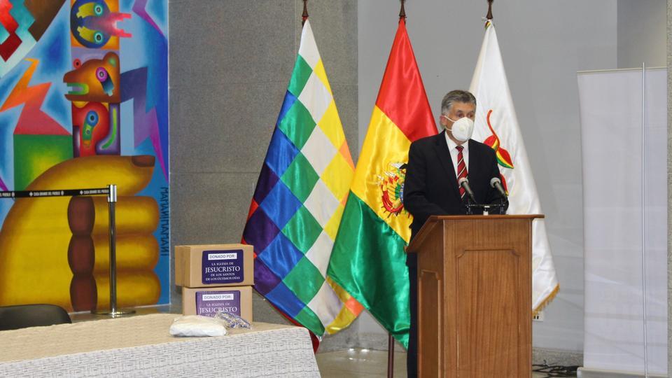 Ministerio de l Presidencia - donación