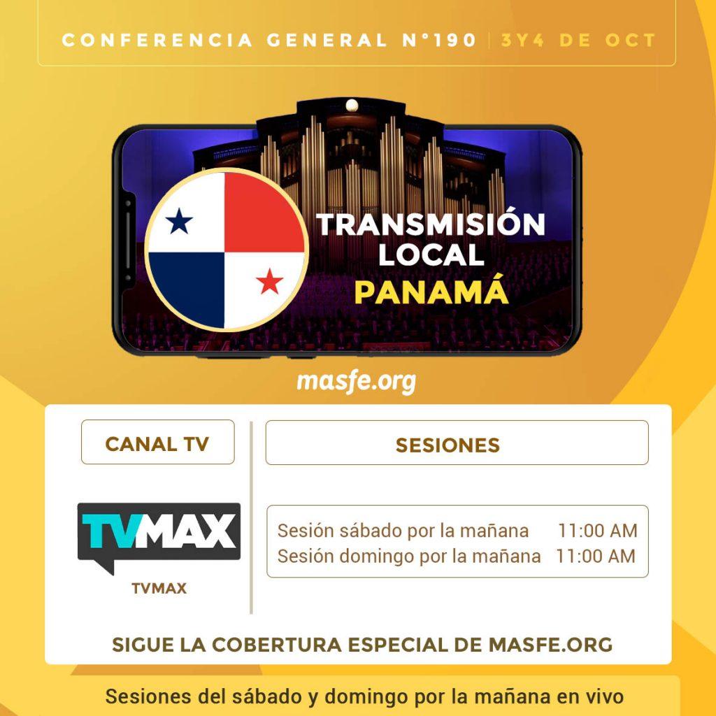 Conferencia en TV - Panamá