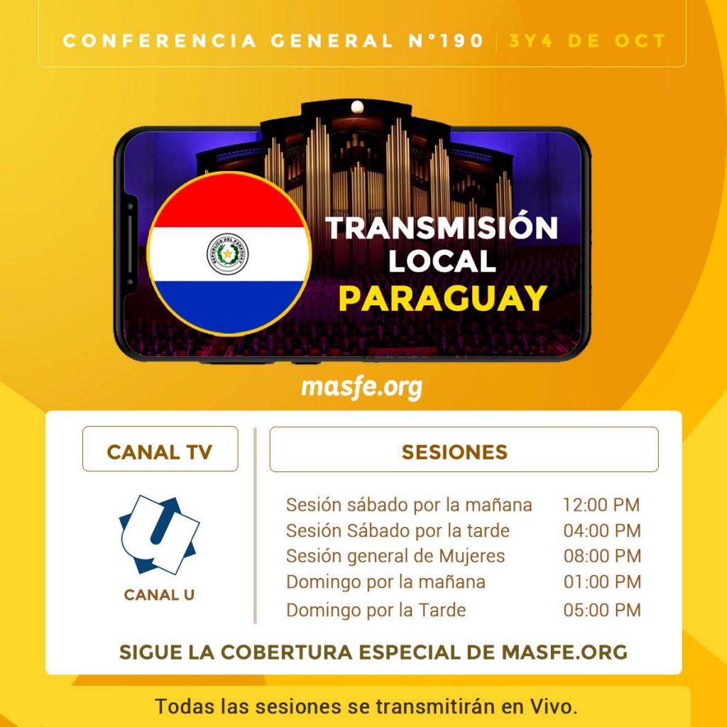Conferencia en TV - Paraguay