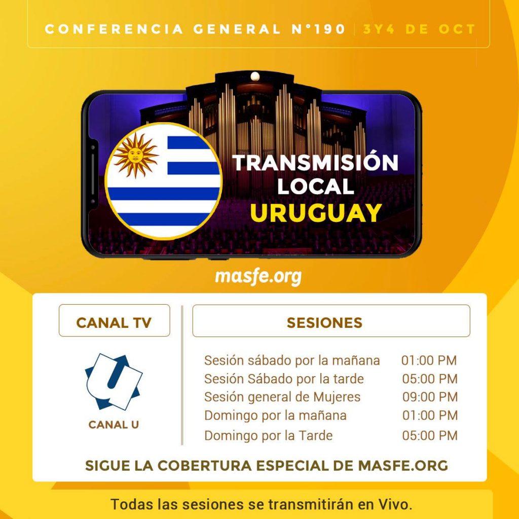 Conferencia en TV - Uruguay