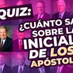 iniciales de los Apóstoles