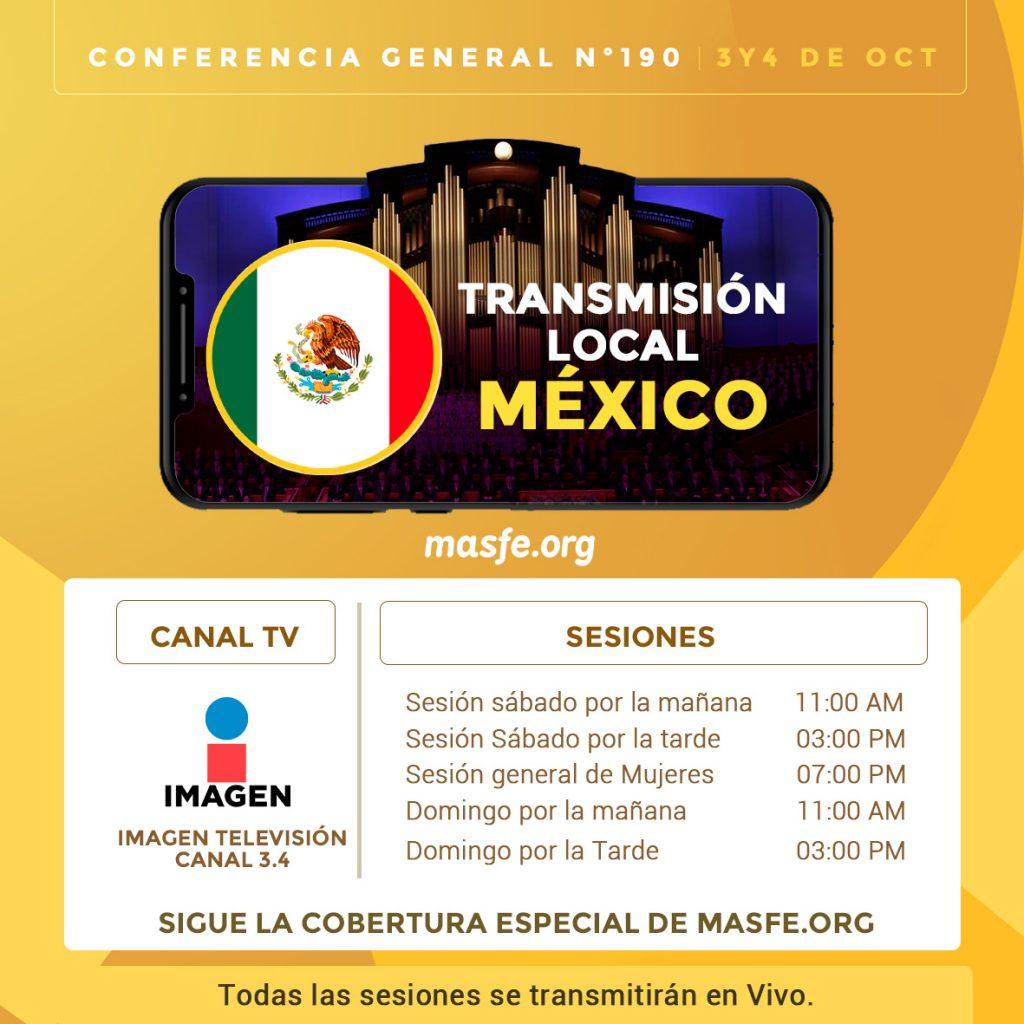 Televisión y radio - Conferencia General