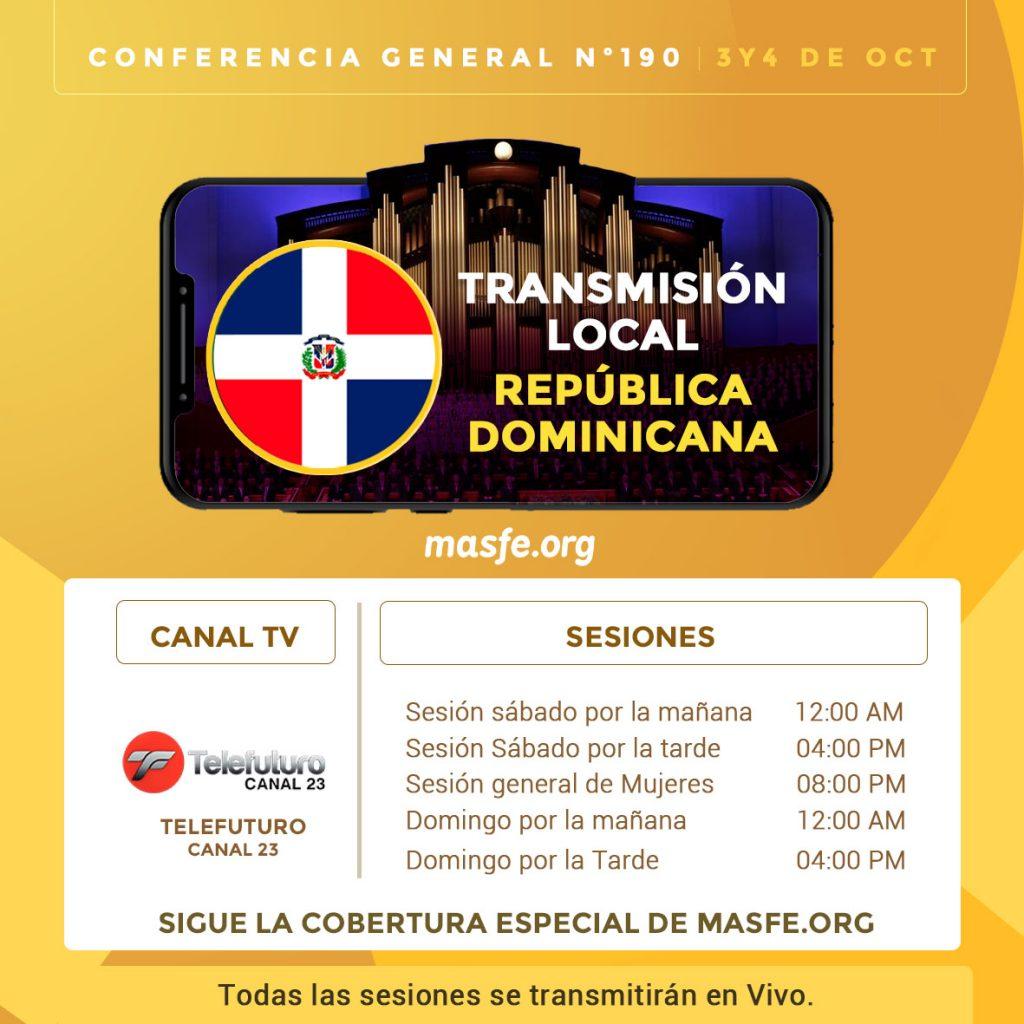 Conferencia en TV - República Dominicana