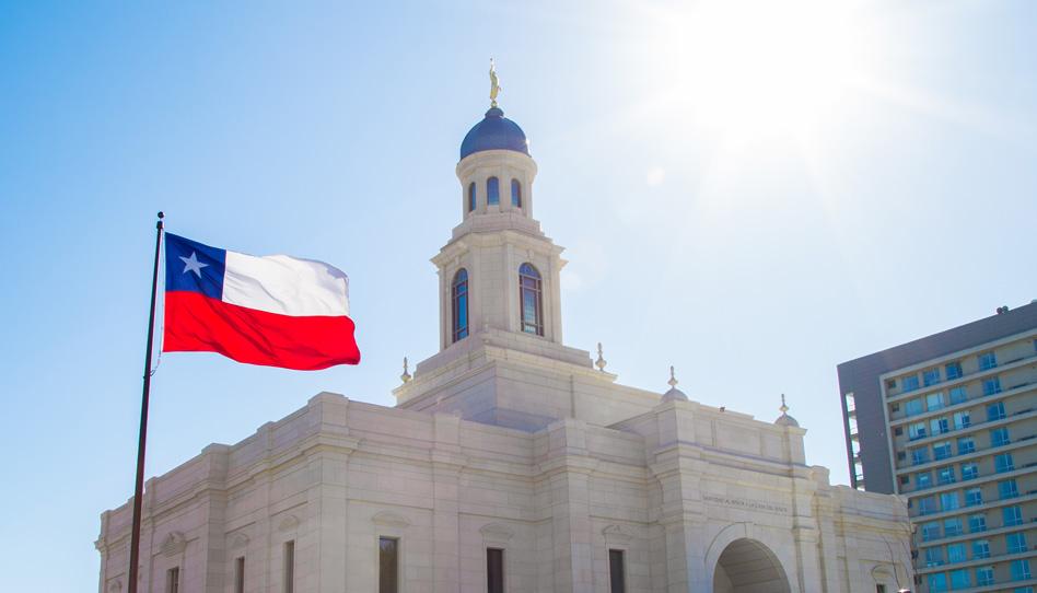 Los dos templos en Chile vuelven a cerrar temporalmente por COVID-19